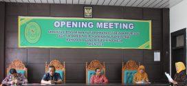 Opening Meeting Akreditasi Penjamin Mutu Mahkamah Syar'iyah Meureudu