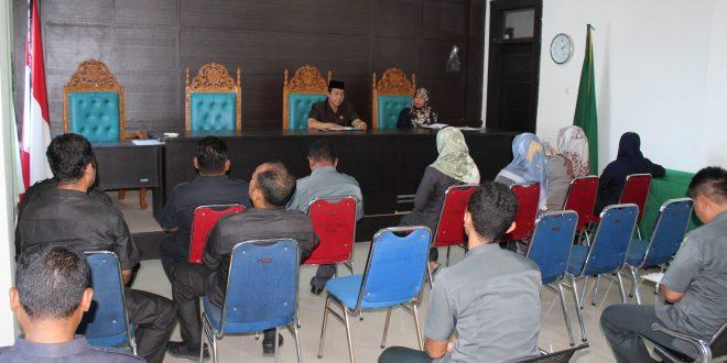 Rapat umum Mahkamah Syar'iyah Meureudu