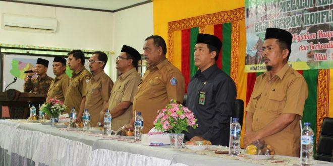 Pelaksanaan  Sidang Isbat Nikah Terpadu di Kabupaten Pidie Jaya