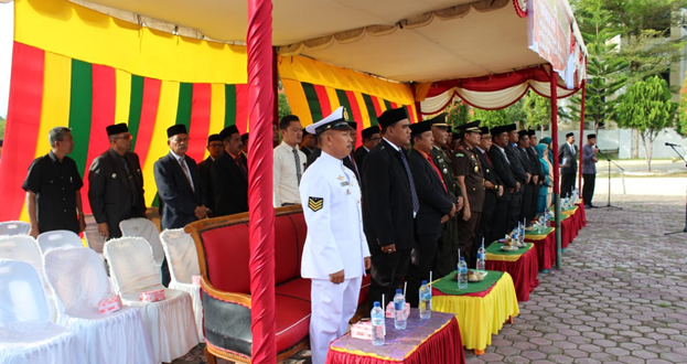 Ketua Mahkamah Syar'iyah Meureudu Hadiri Acara Upacara Hari Kesaktian Pancasila