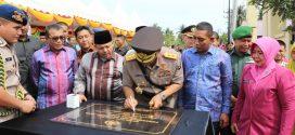 Ketua MS Meureudu Menghadiri Acara Peresmian dan Peletakan Batu Pertama Mako Polres Pidie Jaya