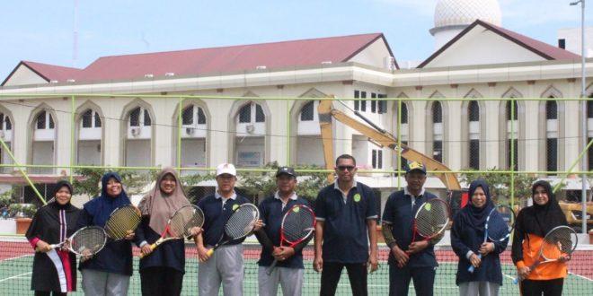Kegiatan Olahraga : Turnamen Tenis MS Meureudu