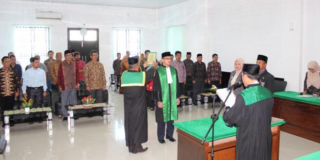Pengambilan Sumpah dan Pelantikan Hakim Pada Mahkamah Syar'iyah Meureudu
