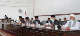 Ketua MS Meureudu Hadiri Penutupan Rapat Paripurna DPRK Pidie Jaya