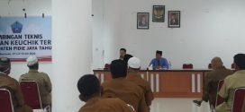 Ketua MS Meureudu Menjadi Pemateri Untuk Pembekalan Keuchik Se-Kabupaten Pidie Jaya