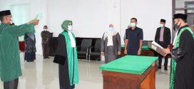 MS Meureudu Laksanakan Pengambilan Sumpah Dan Pelantikan Hakim Baru