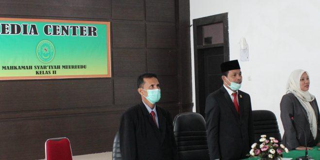 Ketua MS Meureudu Mengikuti Webinar Ekonomi Syariah