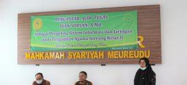 Pengantar Tugas dan Perpisahan Jurusita Pengganti Mahkamah Syar'iyah Meureudu