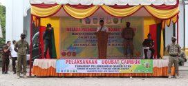 Eksekusi Cambuk Kembali Dilaksanakan di Kabupaten Pidie Jaya